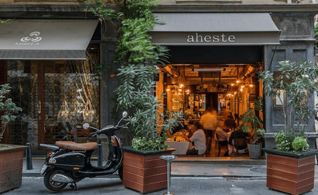 Ресторан Ахесте Стамбул