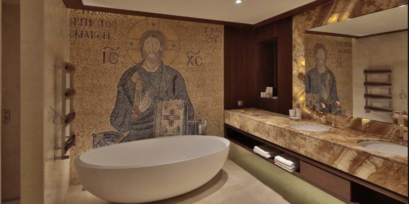 Ванная Ariana Sustainable Luxury Lodge, фото