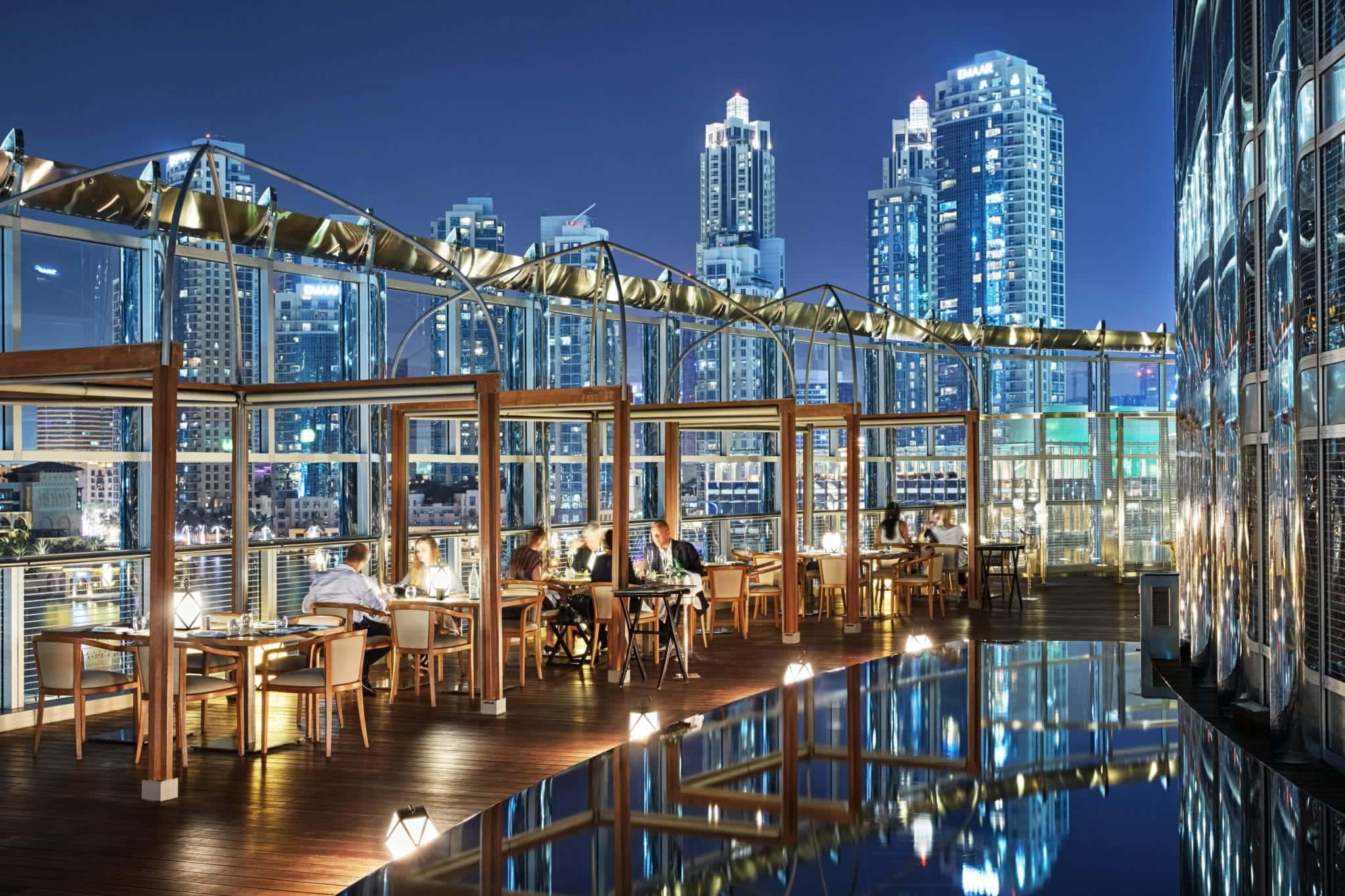 Armani Amal Terrace Armani Hotel Dubai, фото