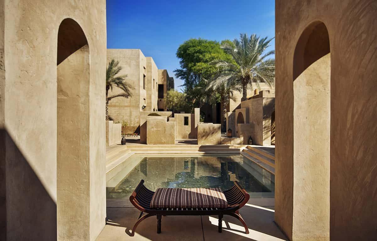Bab Al Shams Architecture Дубай, фото