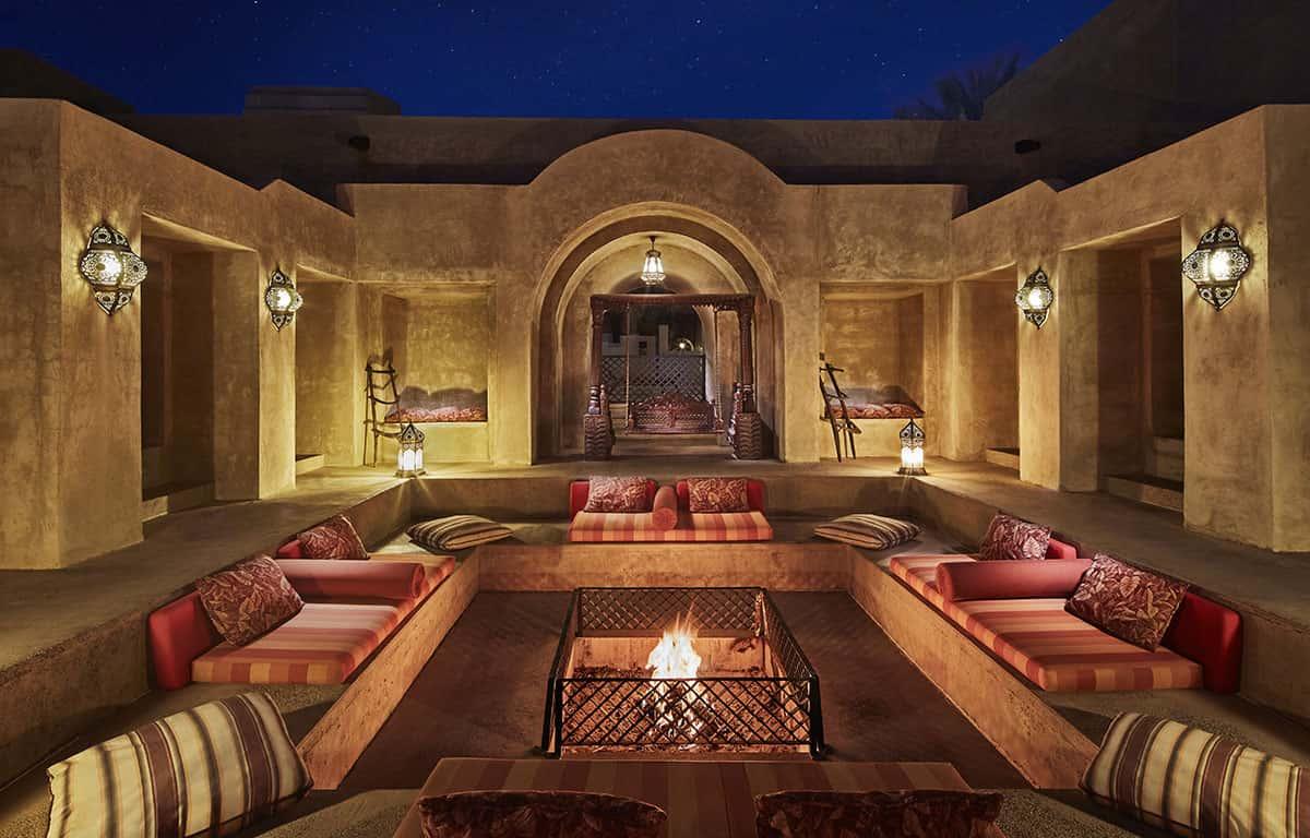 Bab Al Shams Firepit Дубай, фото