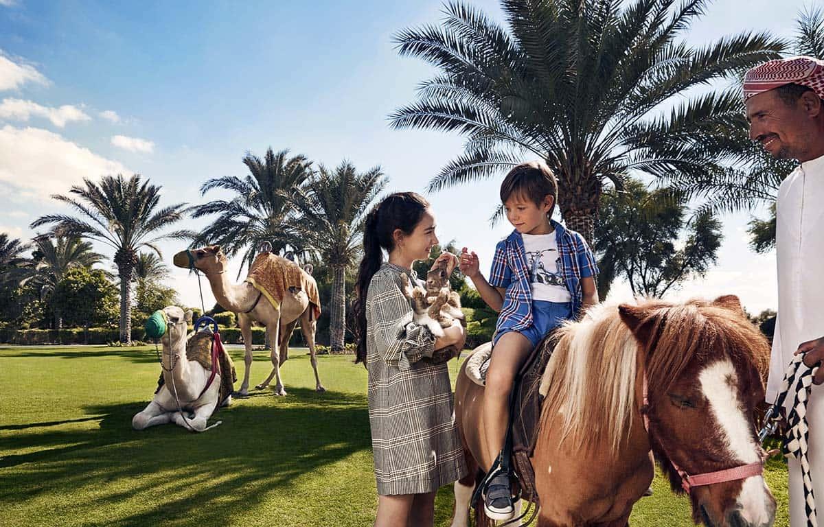 Bab Al Shams Horse Riding Дубай, фото