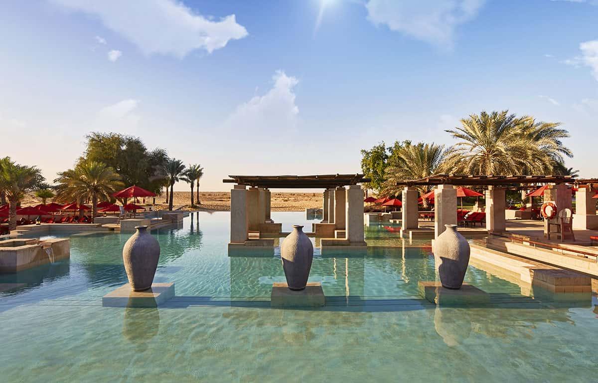 Bab Al Shams Infinity Pool Дубай, фото