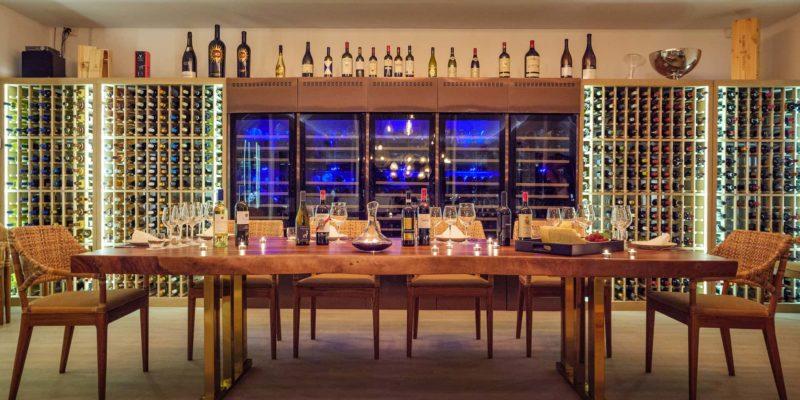 Винный бар Baglioni Resort Maldives, фото