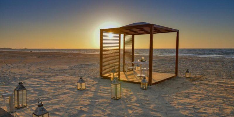 Beach Dinner The Oberoi Beach Resort, Al Zorah Аджман, фото