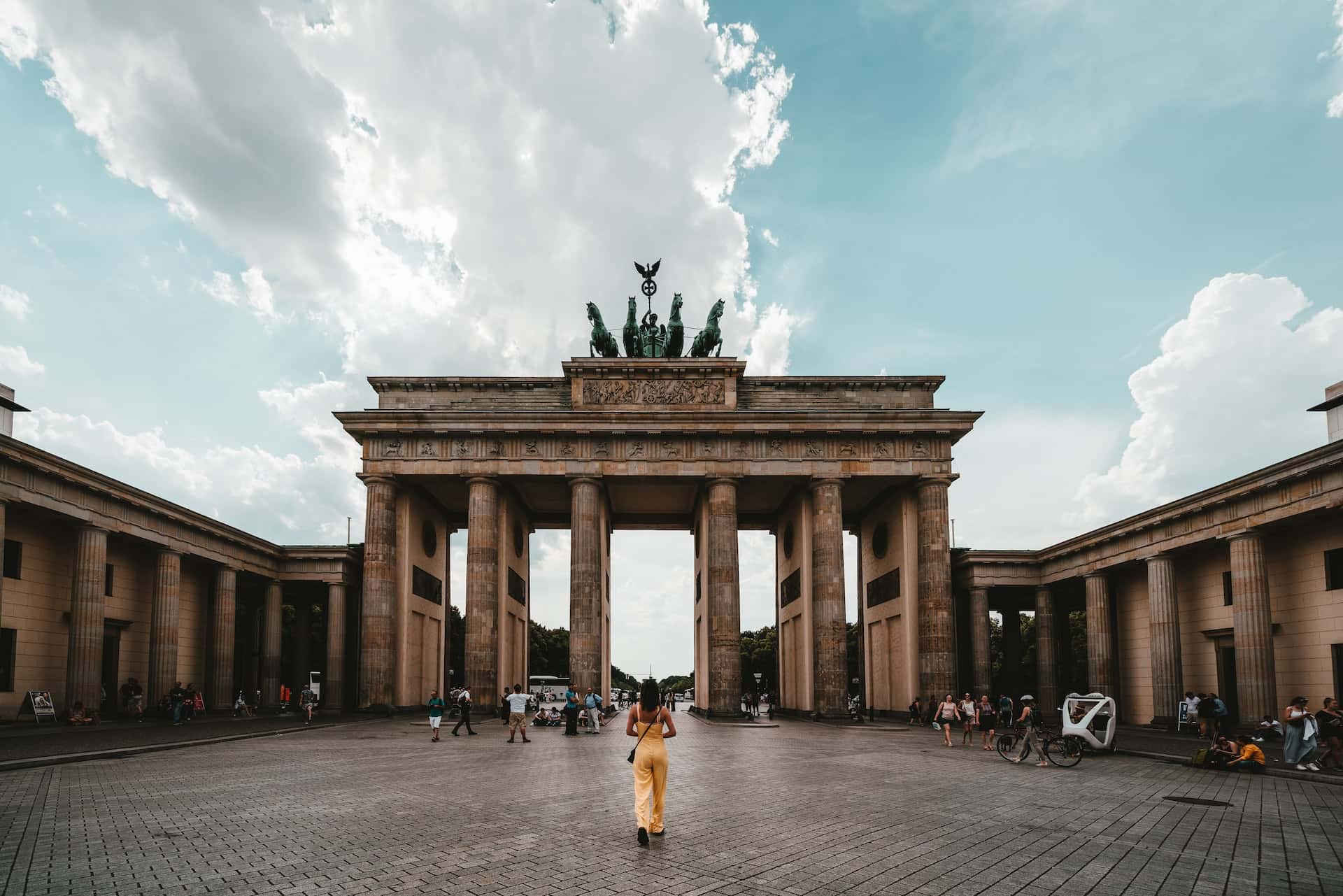 Бранденбургские ворота в Берлине, фото