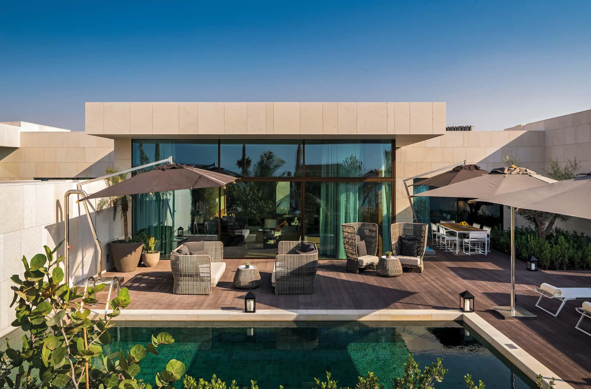 Beach villa Bulgari Resort & Residences, Dubai, фото