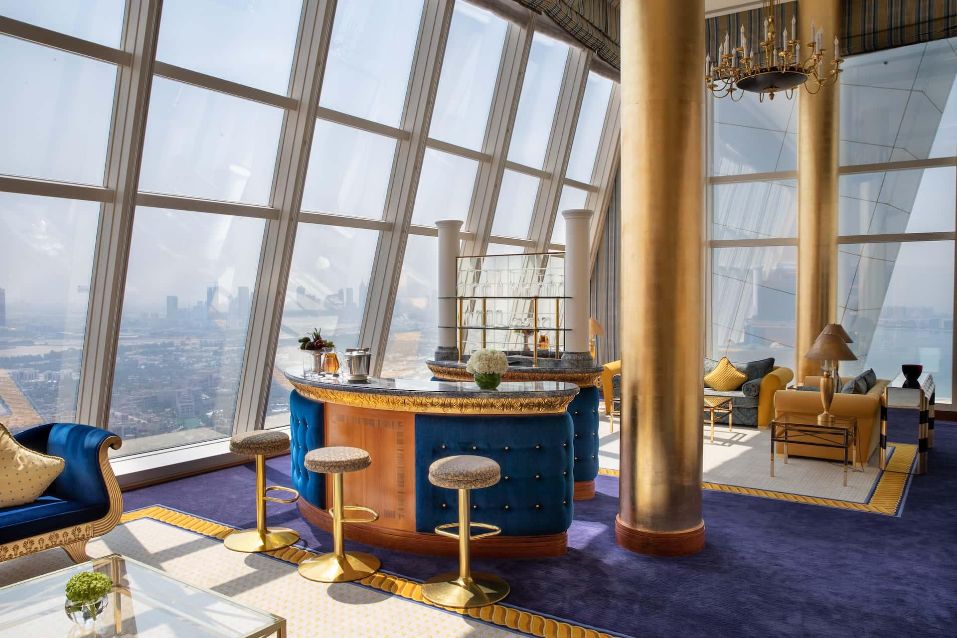 Burj Al Arab Club Suite Living Room Дубай, фото
