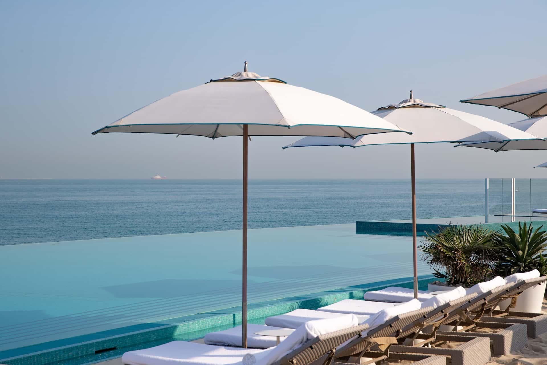 Burj Al Arab The Terrace Infiniti Pool Дубай, фото