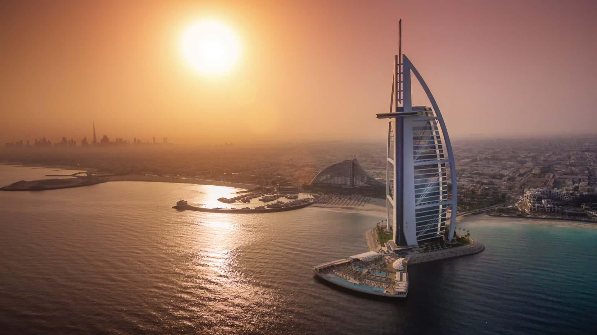 Burj Al Arab Дубай, фото