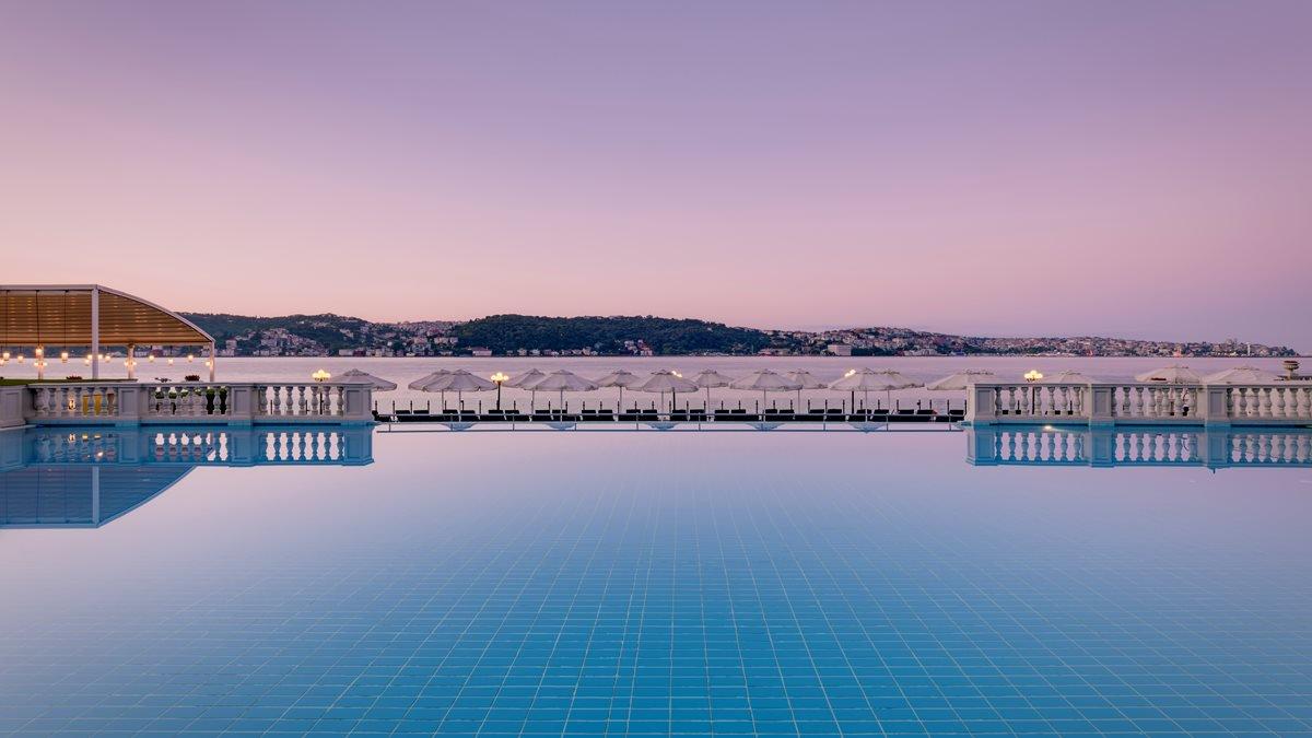Infinity Pool Çırağan Palace Kempinski Istanbul, фото