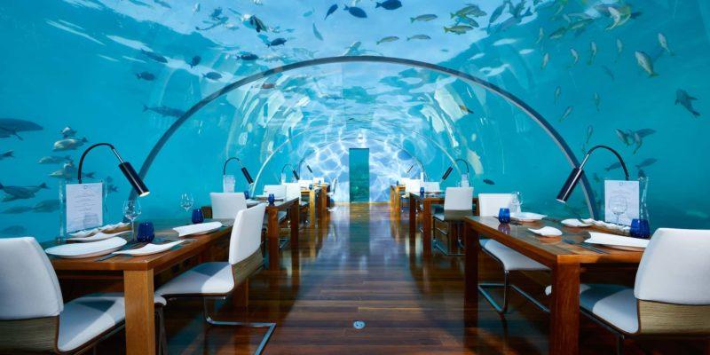 Ресторан Thaa Conrad Maldives Rangali Island Мальдивы, фото
