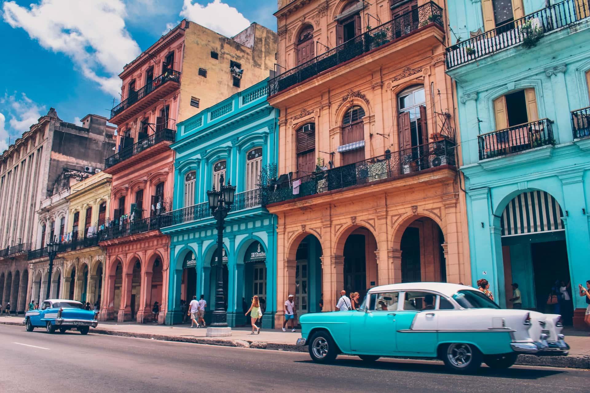 Улица в Гаване, фото