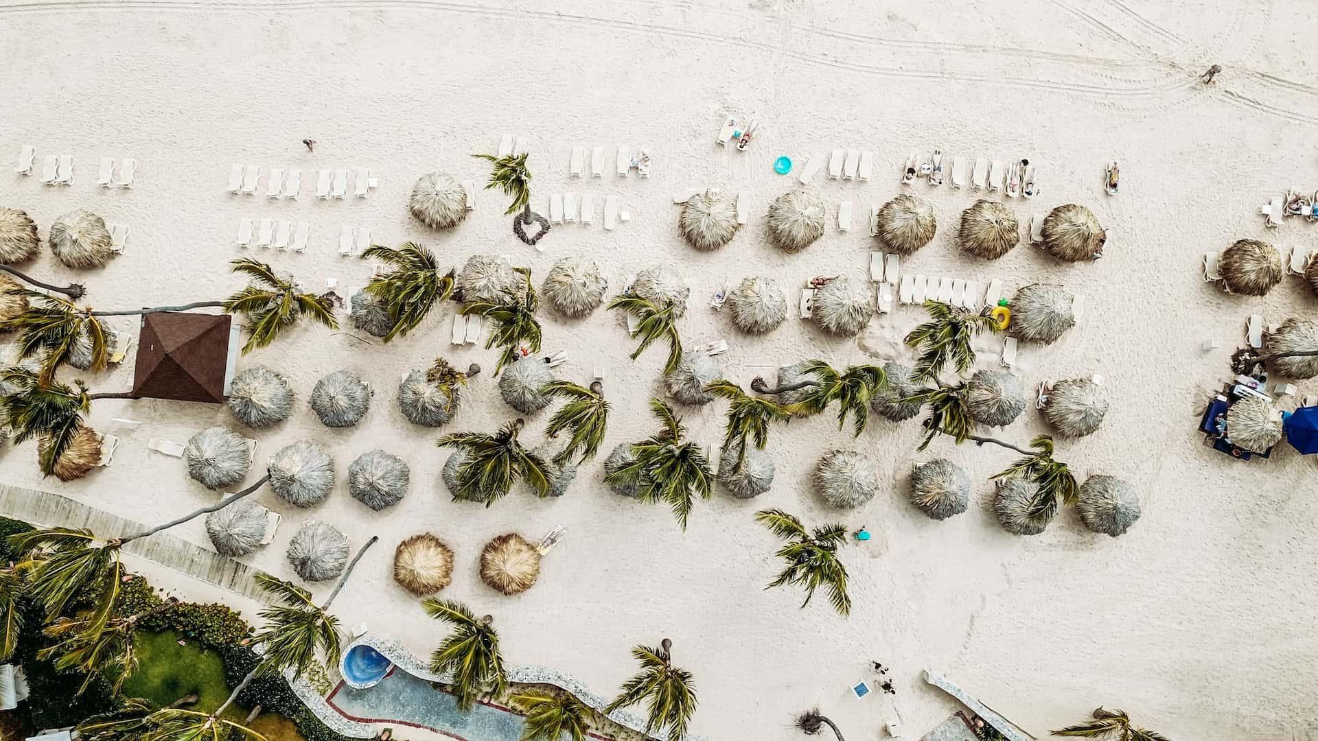 Пляж в Доминикане, фото