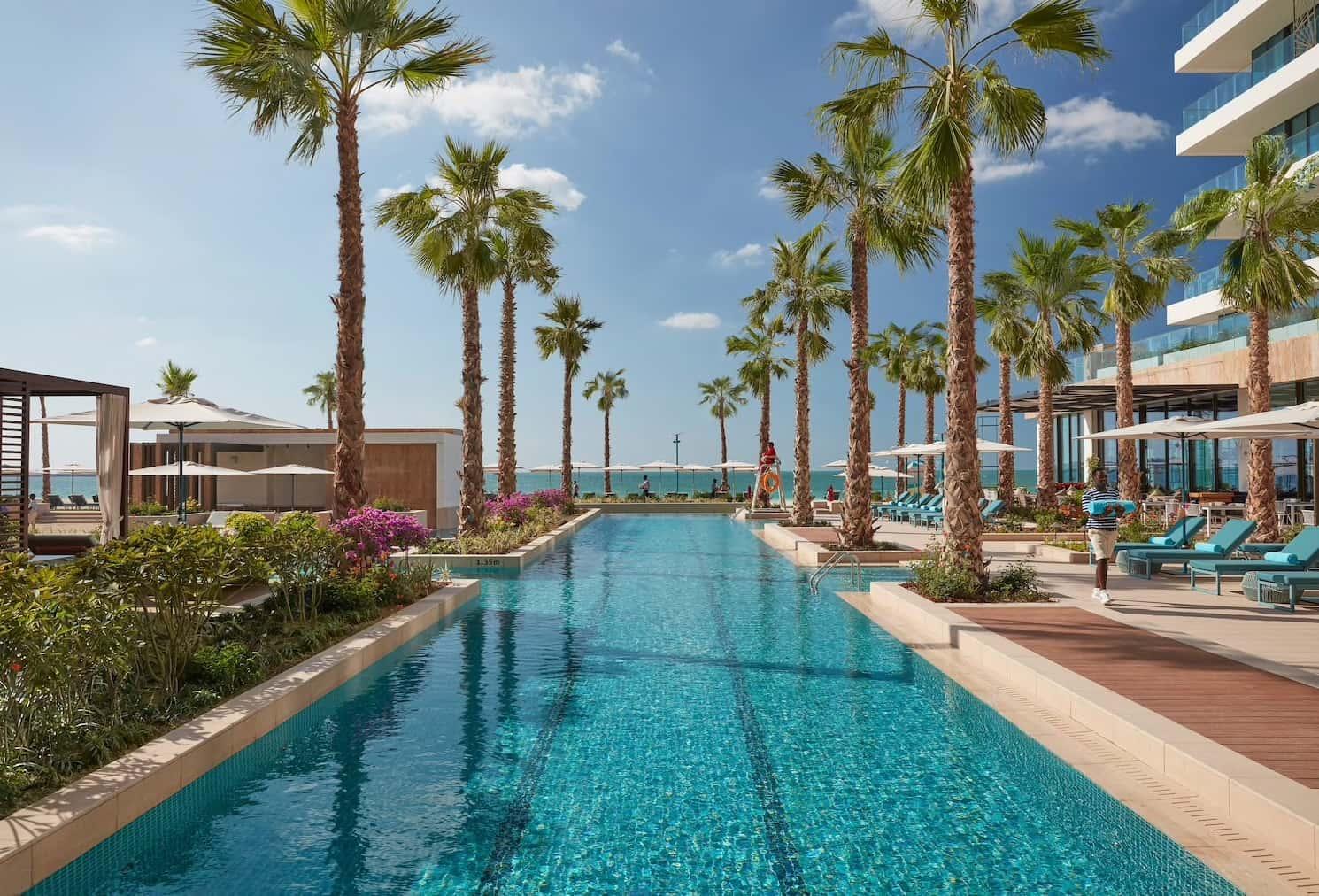 Pool Mandarin Oriental Jumeira, Dubai, фото