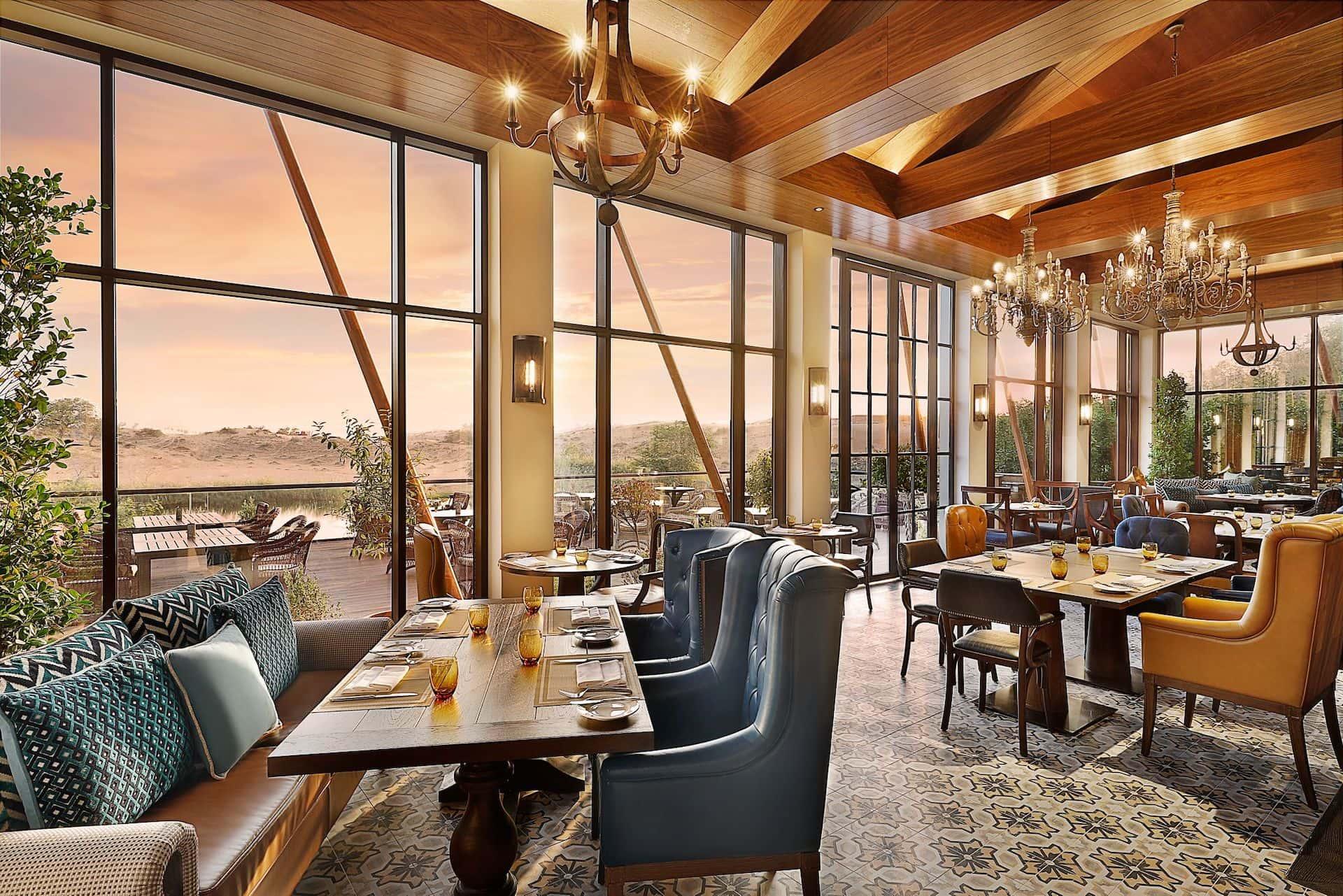 Farmhouse Restaurant The Ritz-Carlton Ras Al Khaimah, Al Wadi Desert, фото