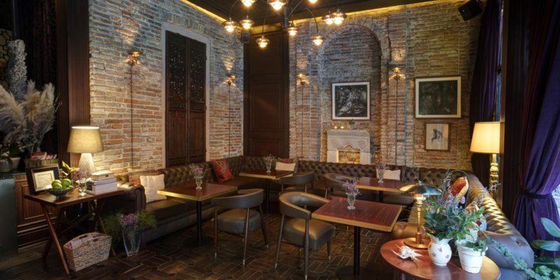 Ресторан Georges Hotel Galata Cтамбул, фото