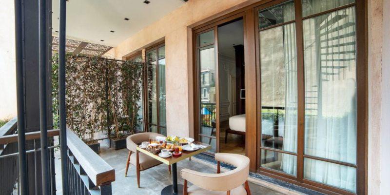 Терраса Georges Hotel Galata Cтамбул, фото