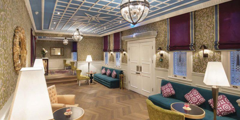 Лобби Hagia Sofia Mansions Стамбул, фото