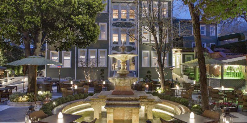 Сад Hagia Sofia Mansions Стамбул, фото