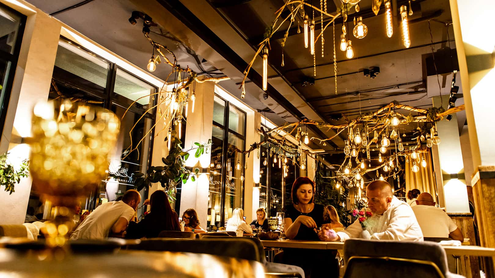 Ресторан Hills Polyana Hotel, фото