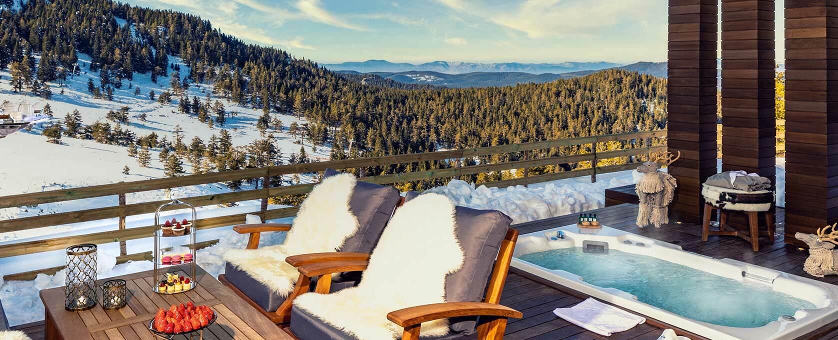 Терраса Kaya Palazzo Ski & Mountain, фото