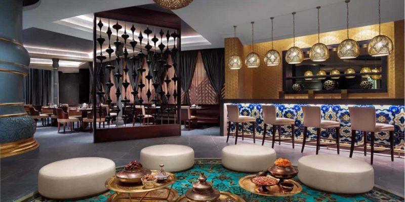 Kyui Restaurant Fairmont Ajman, фото