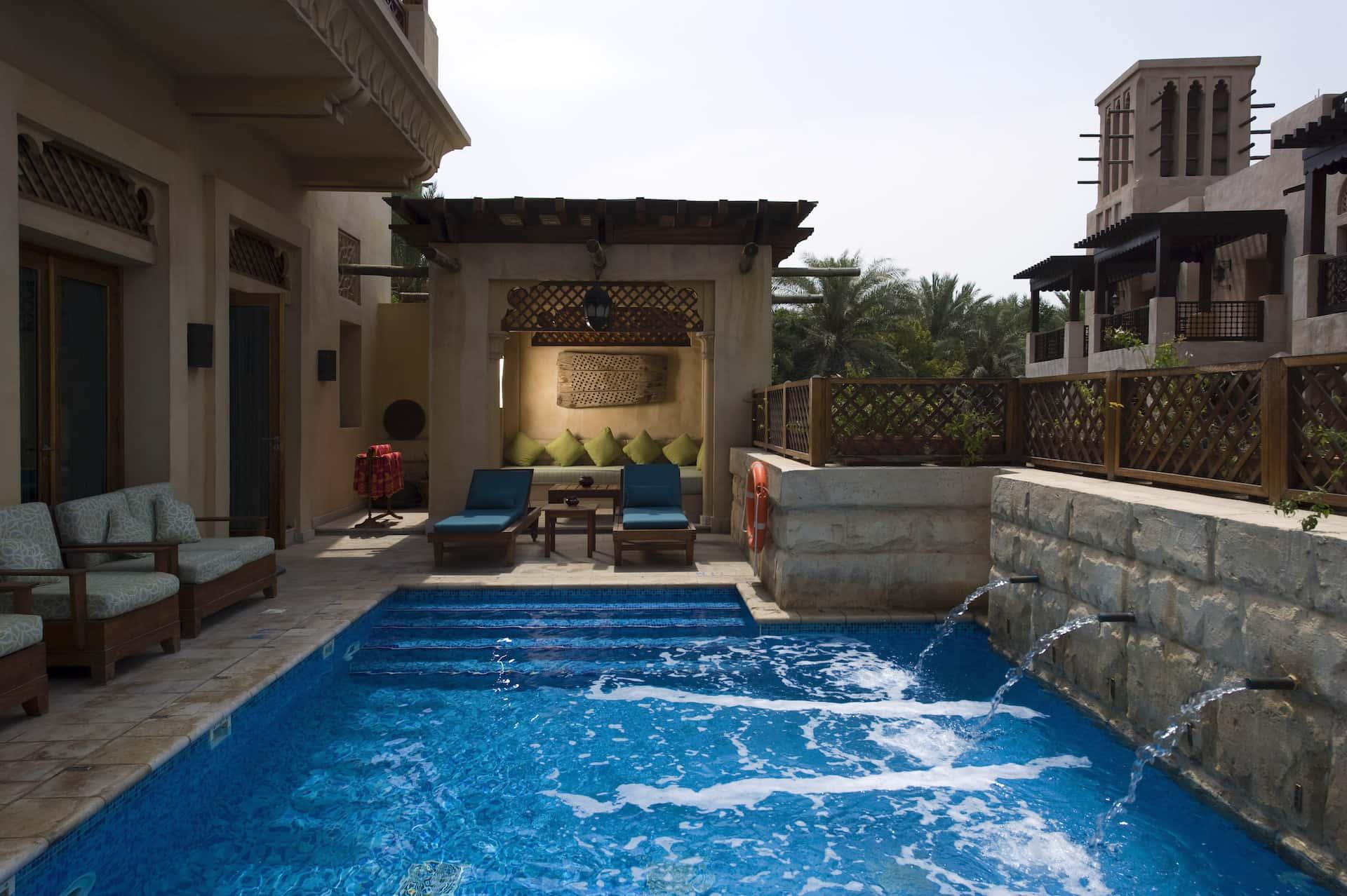 Madinat Jumeirah Malakiya Villa Royal Villa Pool View Дубай