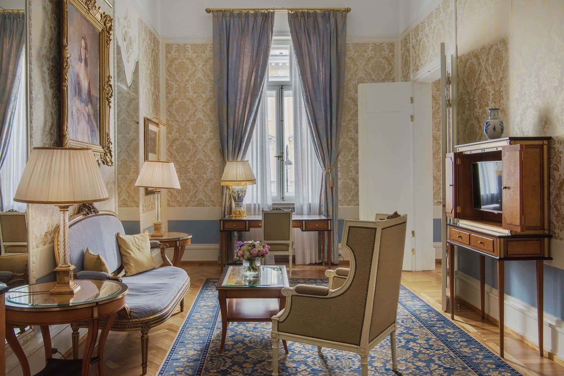 Люкс Мариинский Гранд Отель Европа Санкт-Петербург, фото