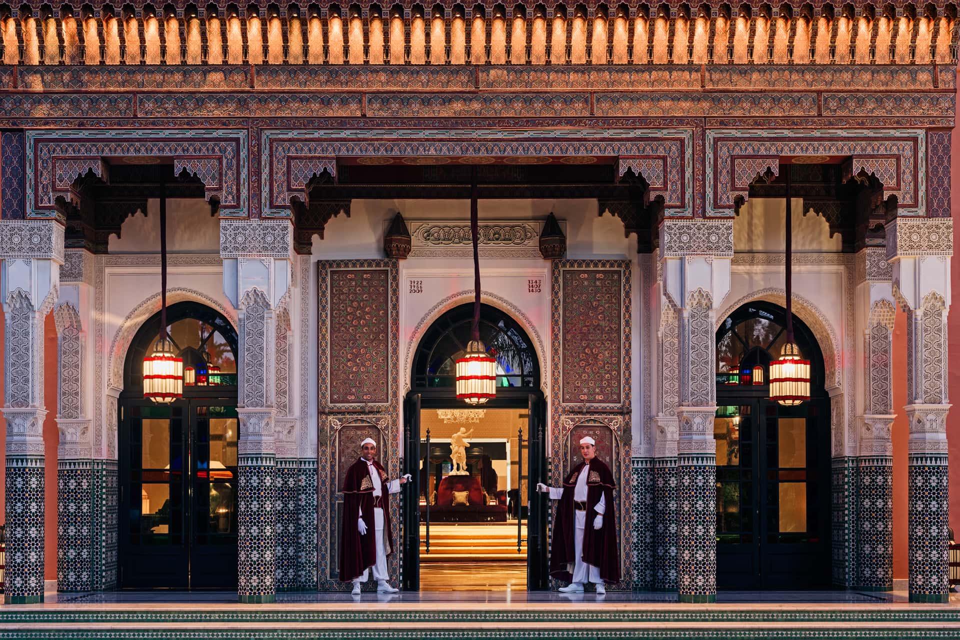 Отель La Mamounia в Марракеше, фото
