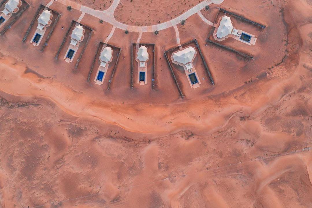 Mysk Al Badayer Retreat Aerial View Щарджа, фото