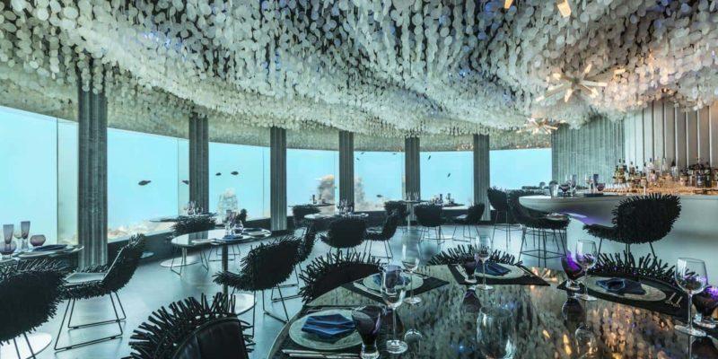 Ресторан SubSix Niyama Private Island Maldives, фото
