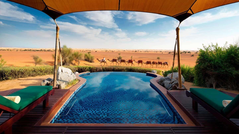 Pool Al Maha, a Luxury Collection Desert Resort & Spa Dubai, фото
