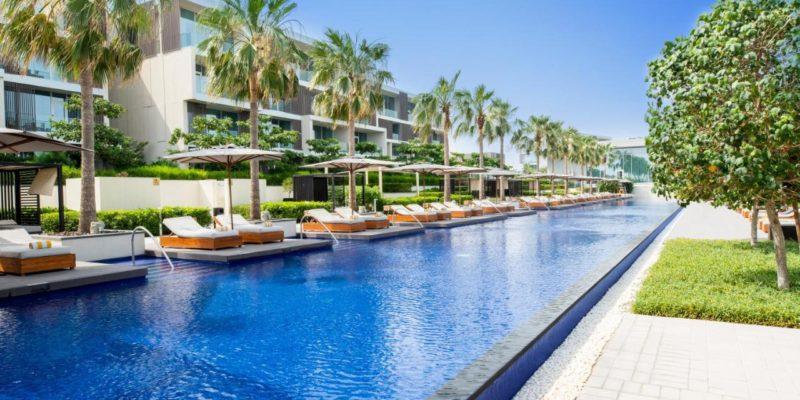 Pool The Oberoi Beach Resort, Al Zorah Аджман, фото
