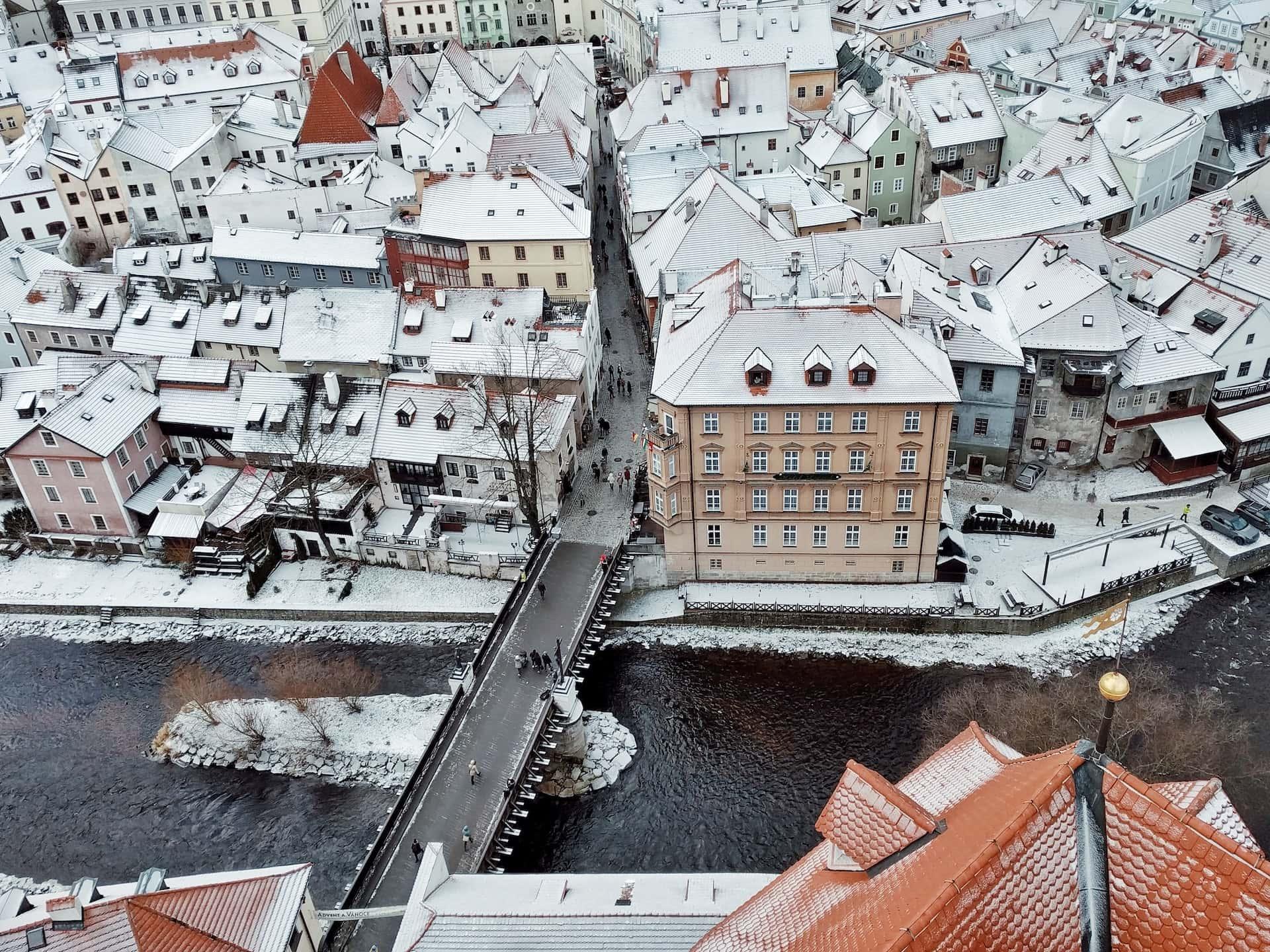 Крумловский замок в Чехии, фото