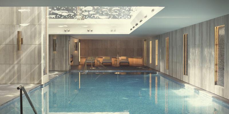 Бассейн отель Raffles Istanbul, фото