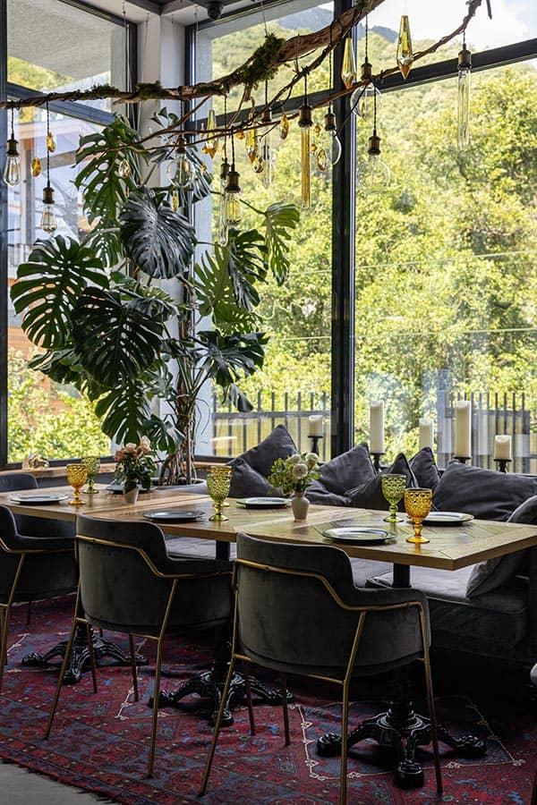Restaurant Myod Kitchen&Bar Krasnaya Polyana Interior, фото