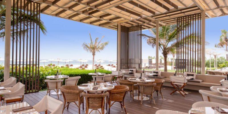 Restaurant The Oberoi Beach Resort, Al Zorah Аджман, фото