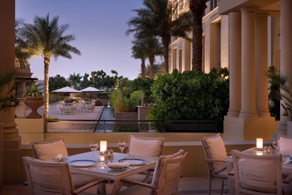 Restaurant Vanitas Palazzo Versace Дубай, фото
