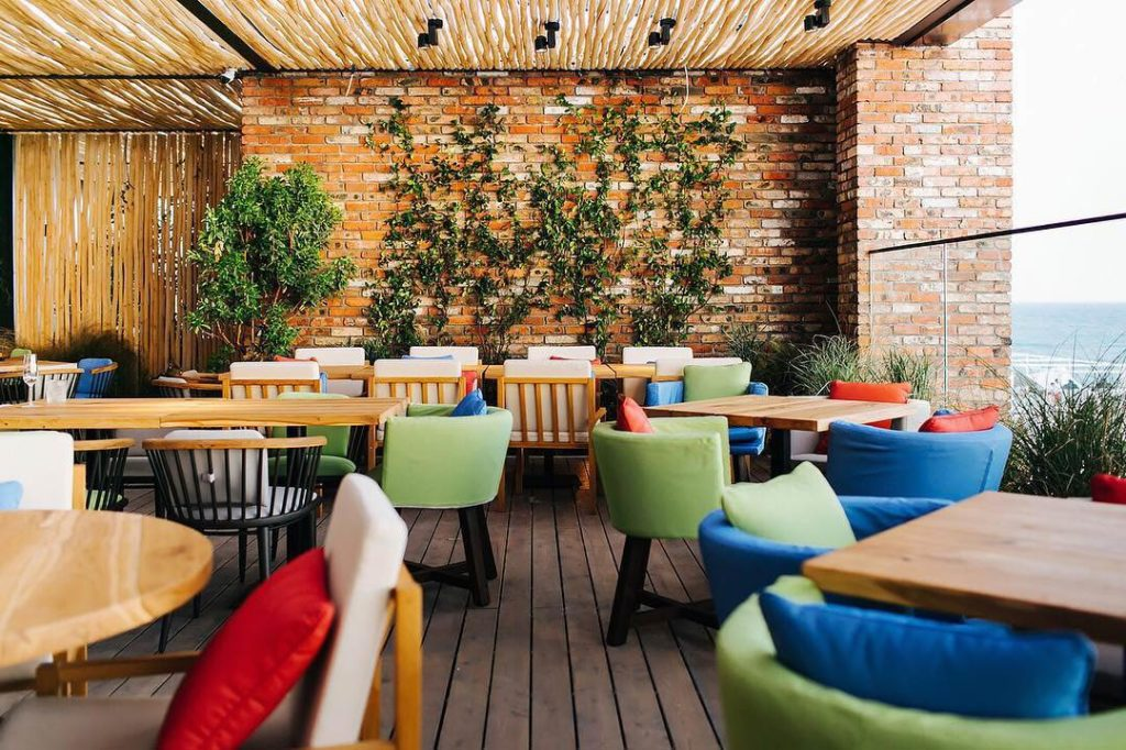 Restaurant 5642 Vysota Sochi Interior, фото