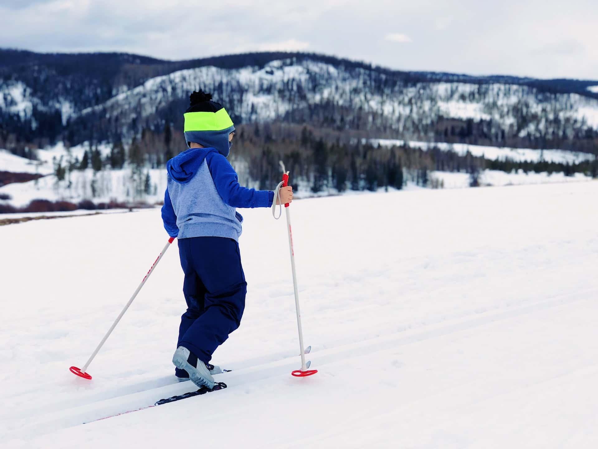 Беговые лыжи, фото
