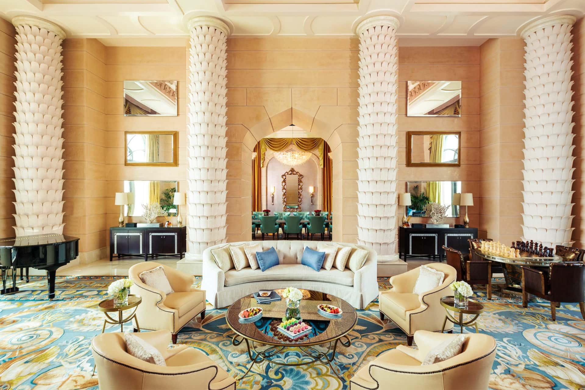Suite Royal Bridge Atlantis The Palm Дубай, фото