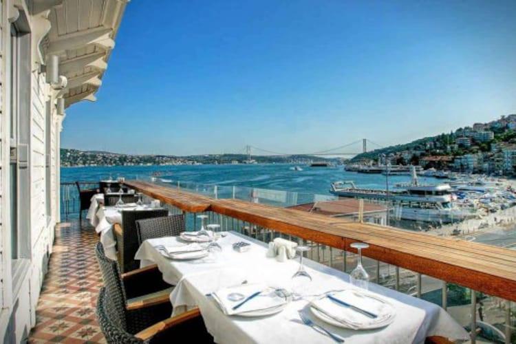 Ресторан Сур балык Стамбул