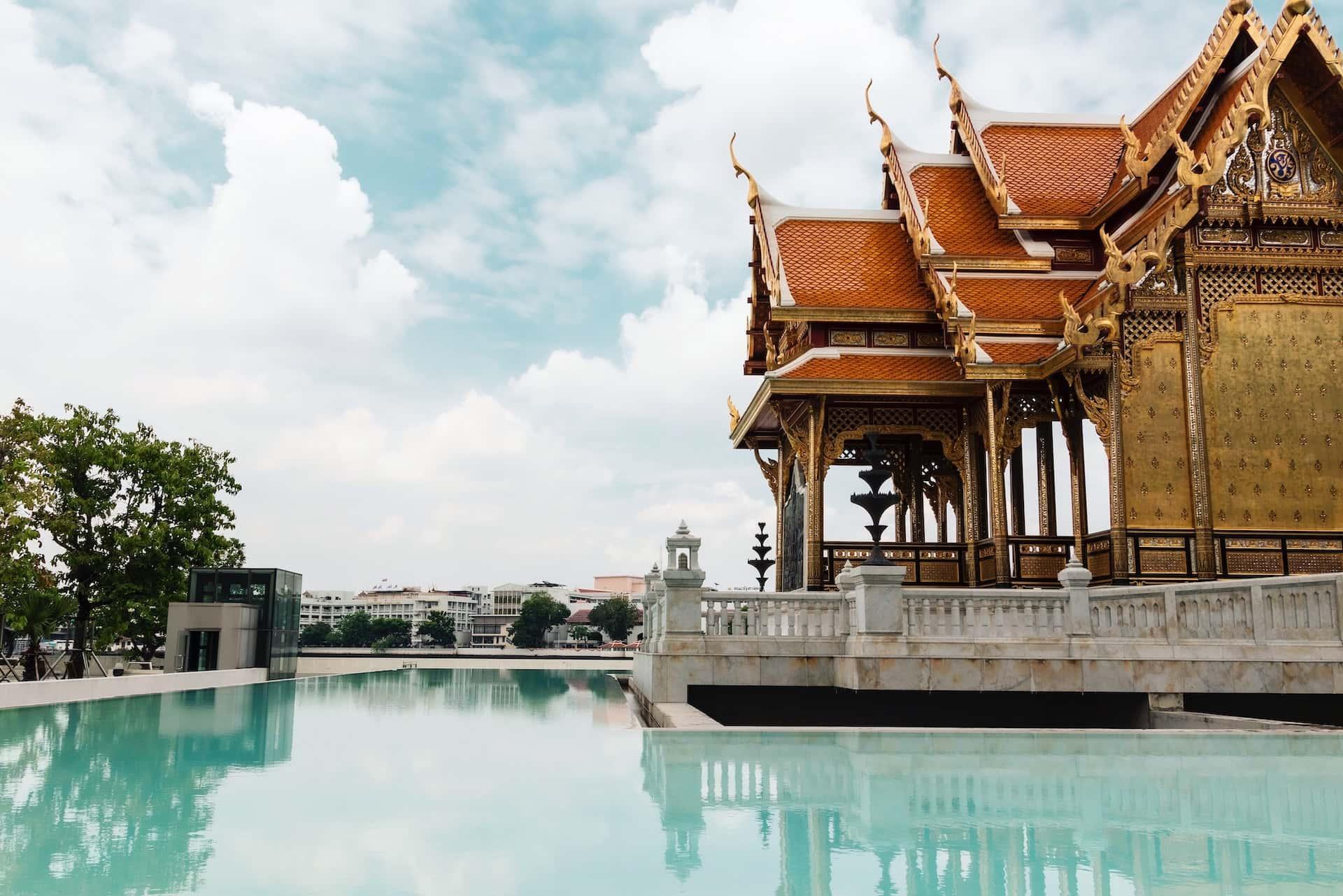 Храм в Бангкоке, фото