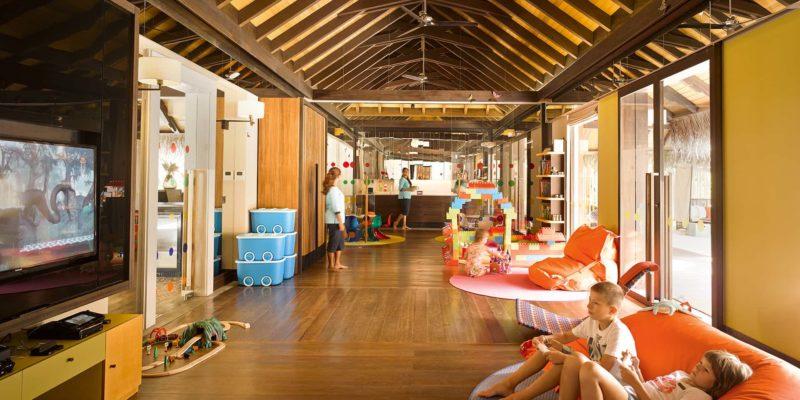 Детский клуб Velaa Private Island, фото