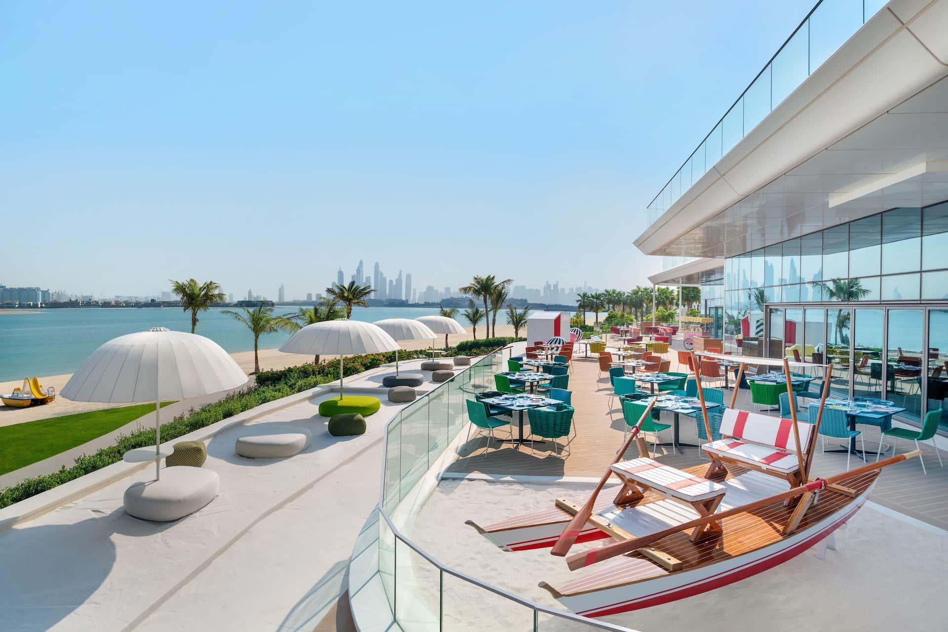 Torno Subito Terrace W The Palm Dubai, фото