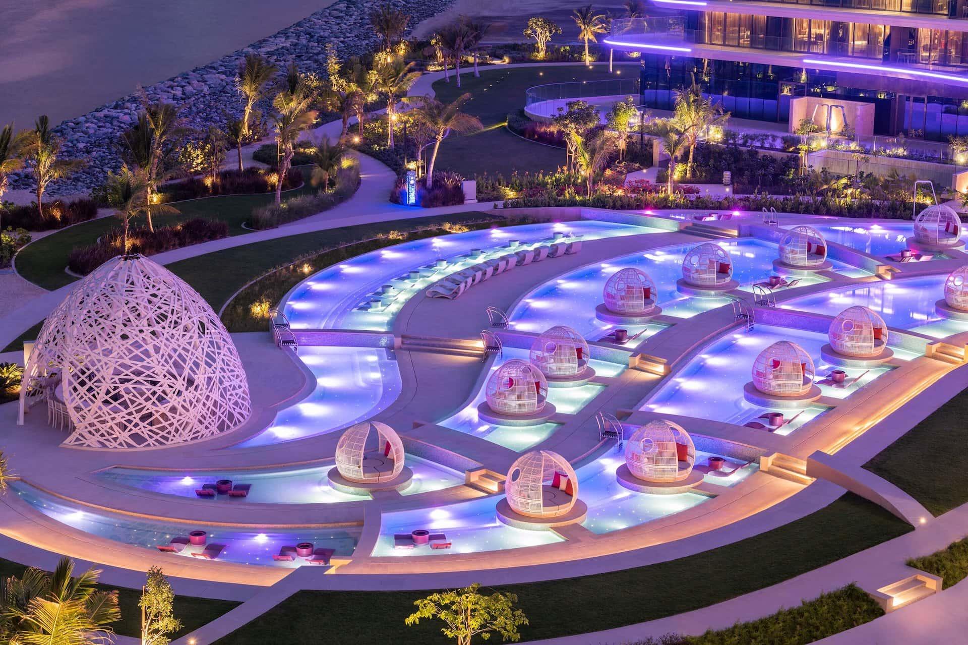 Wet Deck W The Palm Dubai, фото