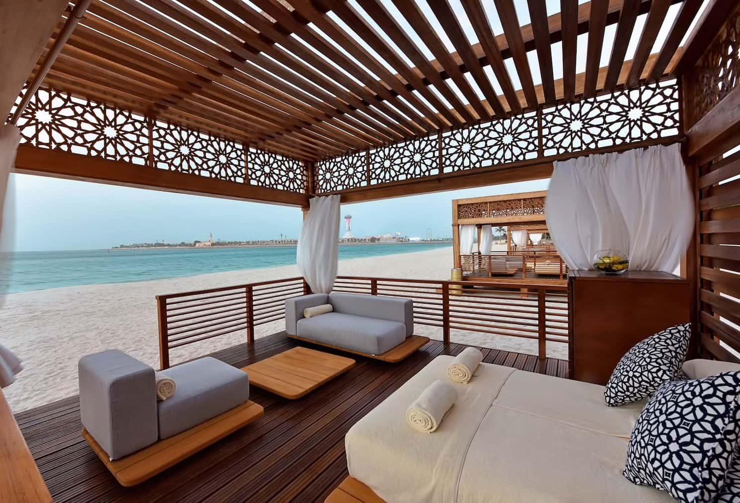Abu Dhabi Emirates Palace Beach Cabanas, фото