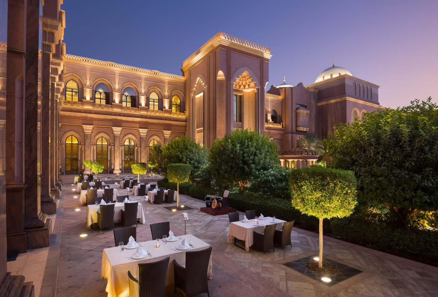 Abu Dhabi Emirates Palace Dining Mawal