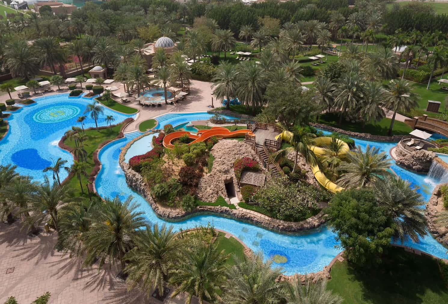 Abu Dhabi Emirates Palace Pool, фото